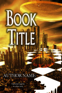 premade exclusive book cover 586 gold