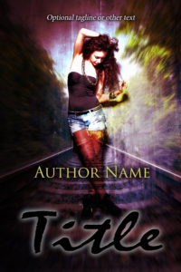 premade exclusive book cover 592 purple 2