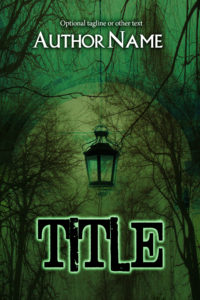 premade exclusive book cover 606 green