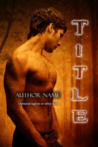 Premade Exclusive Book Cover 659 gold