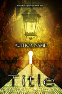 Premade Exclusive Book Cover 787 gold
